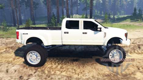 Ford F-450 2017 pour Spin Tires