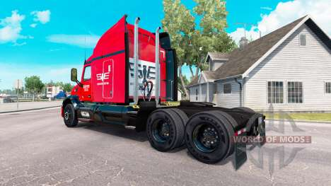 Le sud-est de la peau pour le camion Peterbilt pour American Truck Simulator