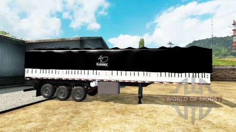 Onboard-Kipp-Auflieger für Euro Truck Simulator 2