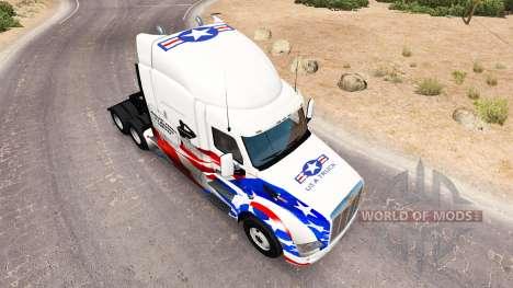 La peau etats-unis Camions de camion Peterbilt pour American Truck Simulator