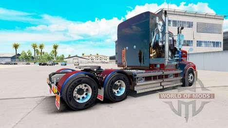 Haut Sally auf Traktor Kenworth-T908 für American Truck Simulator