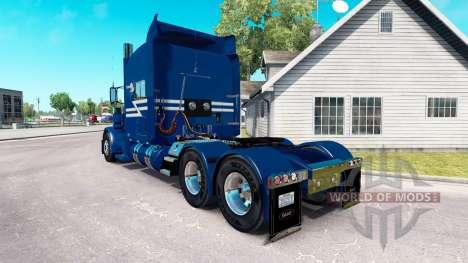TransWest de la peau pour le camion Peterbilt 38 pour American Truck Simulator