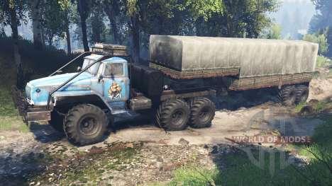 Ural-4320-10 10x10 v3.0 für Spin Tires