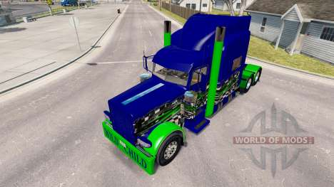 La peau de l'Enfant Sauvage sur le camion Peterb pour American Truck Simulator