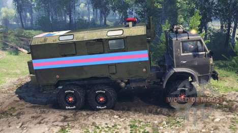 KAMAZ-4310 v5.0 pour Spin Tires