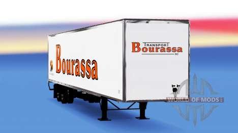 De tous les métaux semi-Bourassa pour American Truck Simulator