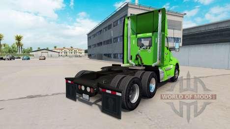 La peau SGT sur tracteur Kenworth pour American Truck Simulator