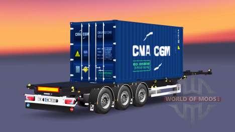 Semi-container-Sommer für Euro Truck Simulator 2