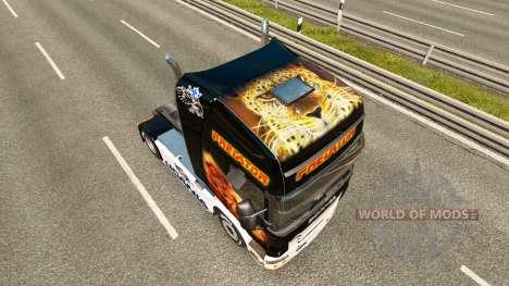 Prédateur de la peau pour Scania camion pour Euro Truck Simulator 2