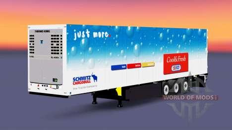 Le frigorifique semi-remorque Schmitz Cargobull pour Euro Truck Simulator 2