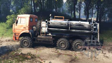 KamAZ-6522-v6.0 für Spin Tires