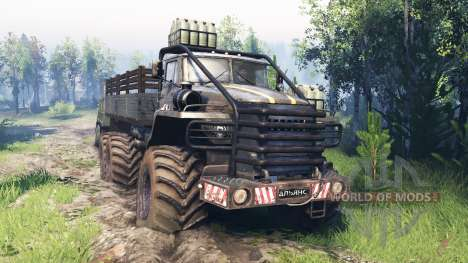 Ural-4320 [grizzly] v4.0 pour Spin Tires