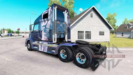 Fantasy-skin für den Volvo truck VNL 670 für American Truck Simulator