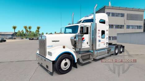 Pepsi peau pour le Kenworth W900 tracteur pour American Truck Simulator