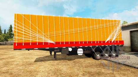 Une collection de remorques pour Euro Truck Simulator 2