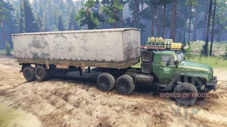 Ural-4320 [tracteur] pour Spin Tires