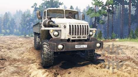 Ural-4320-30 für Spin Tires