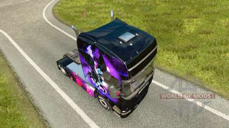 Little Pony skin für Scania-LKW für Euro Truck Simulator 2