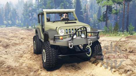 Jeep Wrangler Renegade (JK) pour Spin Tires