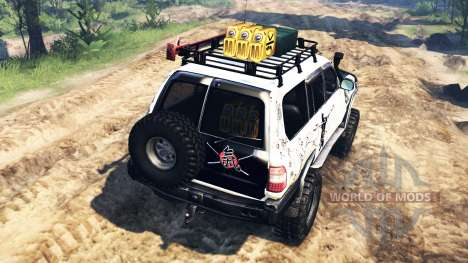 Toyota Land Cruiser 100 2000 [Samuray] v2.0 für Spin Tires