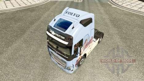 Les rêves de la peau pour Volvo camion pour Euro Truck Simulator 2