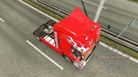 La peau Klanatrans pour tracteur Renault pour Euro Truck Simulator 2