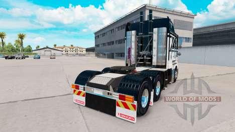 La peau As De Pique sur le tracteur Kenworth K20 pour American Truck Simulator