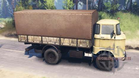 IFA W50 L v2.0 pour Spin Tires
