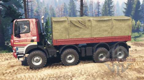 Tatra Phoenix T 158 8x8 v5.0 für Spin Tires