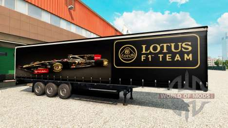 Haut Lotus F1 für semi für Euro Truck Simulator 2