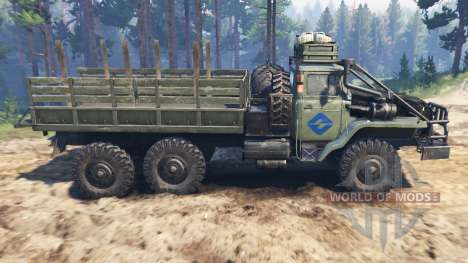 Ural-4320-30 [barbare] pour Spin Tires