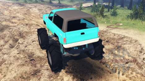 Ford Bronco 1984 pour Spin Tires
