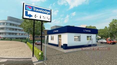 Hotelkette Travelodge und Premier Inn für Euro Truck Simulator 2