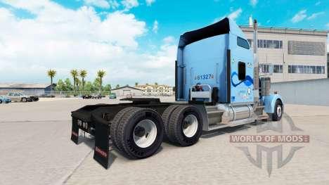 La peau Werner sur le camion Kenworth W900 pour American Truck Simulator