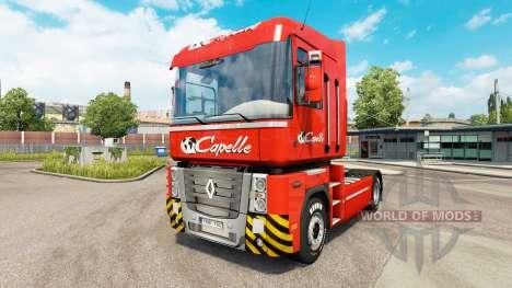 Capelle Haut für Renault-LKW für Euro Truck Simulator 2
