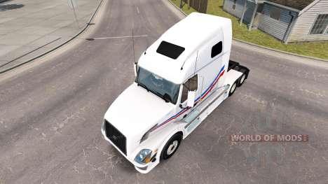 La peau de Jacques Tarière pour tracteur Volvo V pour American Truck Simulator