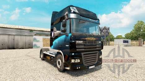 Star Destroyer skin für DAF-LKW für Euro Truck Simulator 2