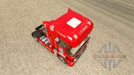 Le FC Bayern peau pour Renault camion pour Euro Truck Simulator 2