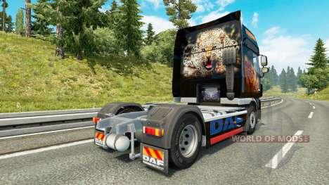 Prédateur de la peau pour DAF camion pour Euro Truck Simulator 2