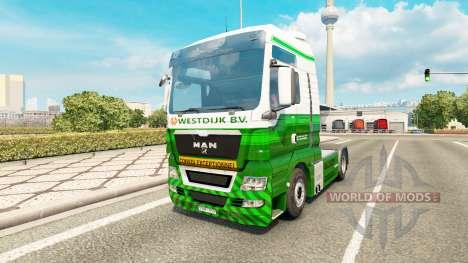 La peau Westdijk B. V. l'HOMME. pour Euro Truck Simulator 2