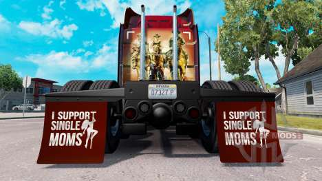 Kotflügel I Support Single Moms v1.4 für American Truck Simulator