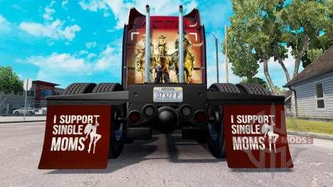 Kotflügel I Support Single Moms v1.4 für American Truck Simulator