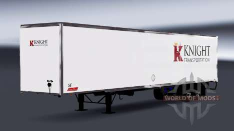All-Metall-Auflieger Ritter für American Truck Simulator