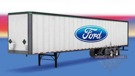 Haut Ford auf den Anhänger für American Truck Simulator