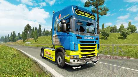 Tomka-skin für den Scania truck für Euro Truck Simulator 2