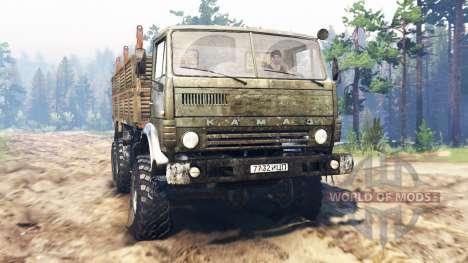 KamAZ-43101 für Spin Tires