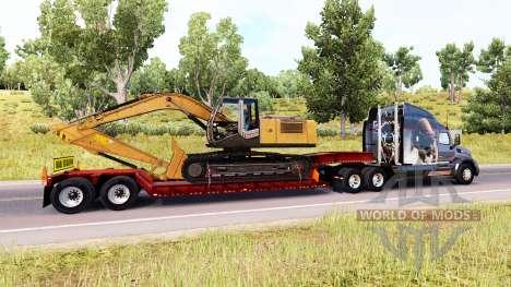Bas de balayage avec fret surdimensionné pour American Truck Simulator