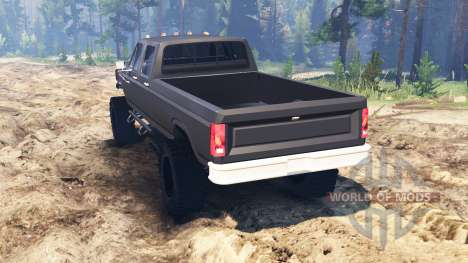 Ford F-350 1984 v2.0 pour Spin Tires