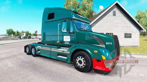 Wilson Trucking-skin für den Volvo truck VNL 670 für American Truck Simulator