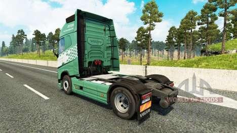 Koln skin für Volvo-LKW für Euro Truck Simulator 2